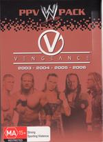 WWE - Vengeance: PPV Pack (4 Disc Box Set) on DVD