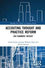 Accounting Thought and Practice Reform by Frank Clarke image