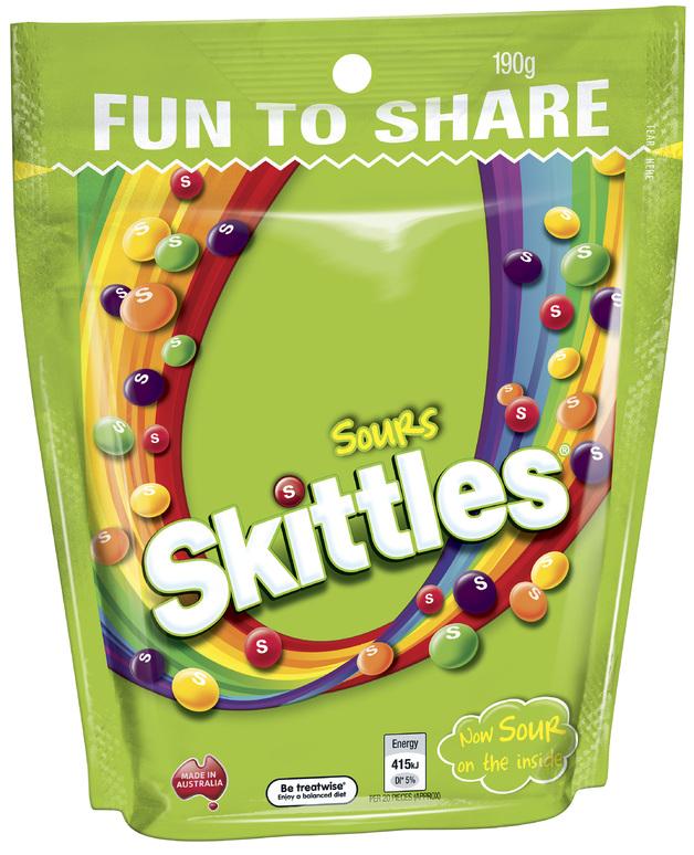 Skittles Sours (190g)