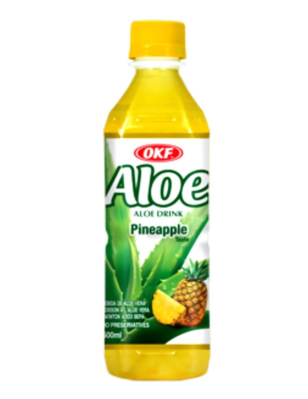 OKF Aloe Drink Pineapple 500ml