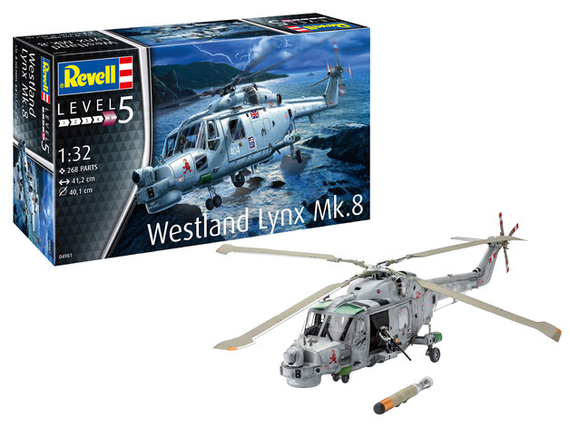 Revell: Westland Lynx - 1:32 Scale Model Kit