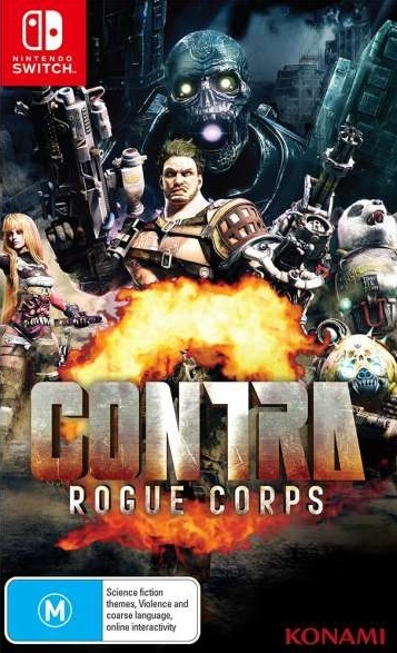 Contra Rogue Corps for Switch