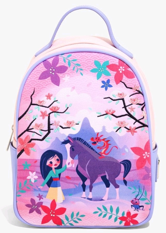 Loungefly: Disney Mulan Mulan Khan Backpack