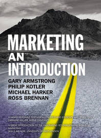 Marketing an Introduction by Gary Armstrong image