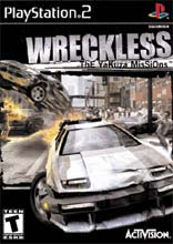 Wreckless for PlayStation 2