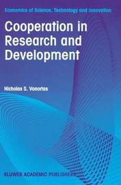 Cooperation in Research and Development by Nicholas S Vonortas