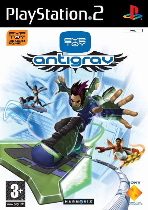EyeToy: AntiGrav with Camera for PlayStation 2