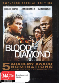Blood Diamond - Two-Disc Special Edition (2 Disc Set) on DVD