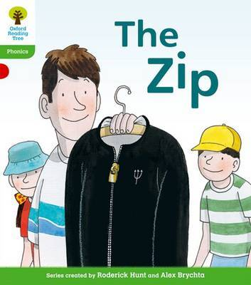 Oxford Reading Tree: Level 2: Floppy's Phonics Fiction: The Zip by Roderick Hunt image