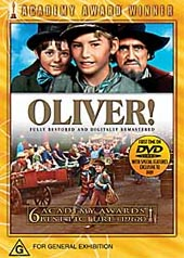 Oliver 30th Anniversary Edition on DVD