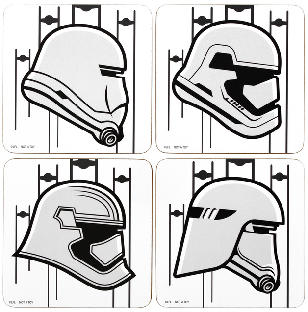 Star Wars: The Force Awakens - Stormtrooper Coaster Set