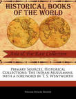 Primary Sources, Historical Collections by William Wilson Hunter