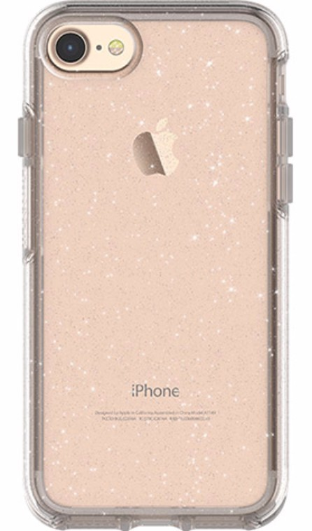 best website 05825 c944c OtterBox Symmetry Clear Case for iPhone 7/8 - Stardust | at Mighty ...