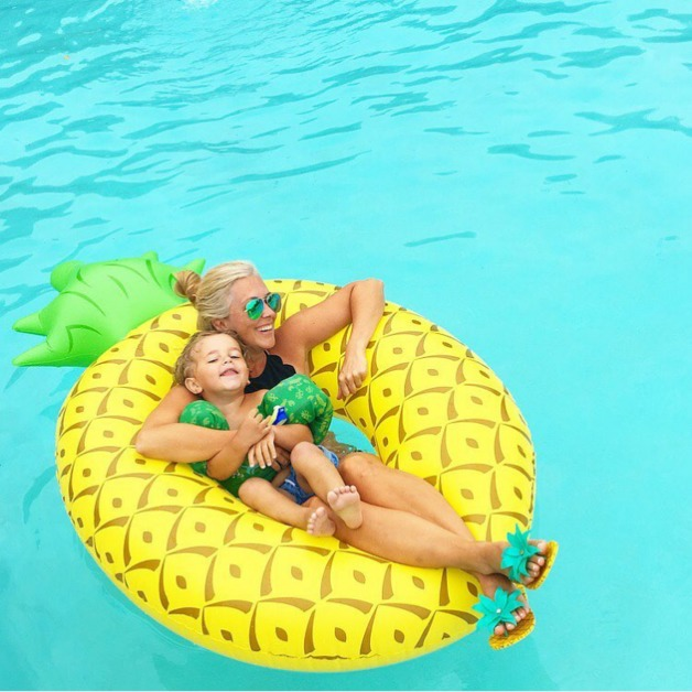 Bigmouth Giant Pineapple Pool Float Over 6 Ft