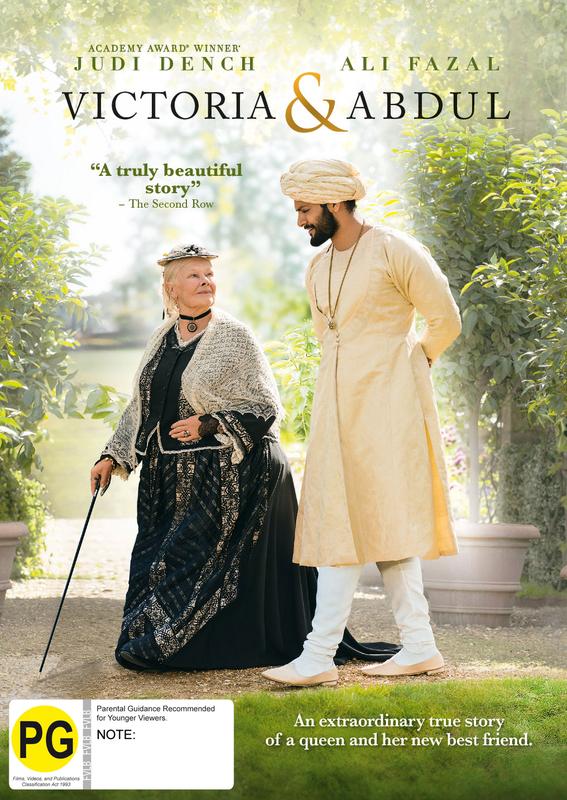 Victoria & Abdul on DVD
