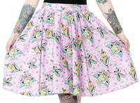 Sourpuss Pun With Food Sweets Skirt (Size Large)
