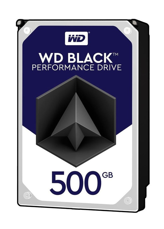 "500GB WD Black - 3.5"" Performance HDD (7200RPM)"