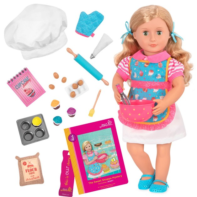 "Our Generation: 18"" Deluxe Doll & Book - Jenny"