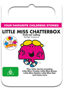 Mr Men & Little Miss: Little Miss Chatterbox find her calling on DVD image