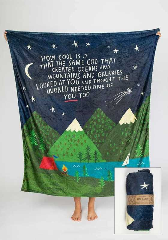 Natural Life: Cozy Blanket - How Cool Is It