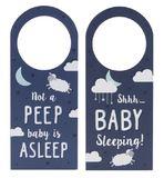 Reversible Door Hanger For Baby - Dark