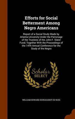 Efforts for Social Betterment Among Negro Americans by William Edward Burghardt Du Bois image