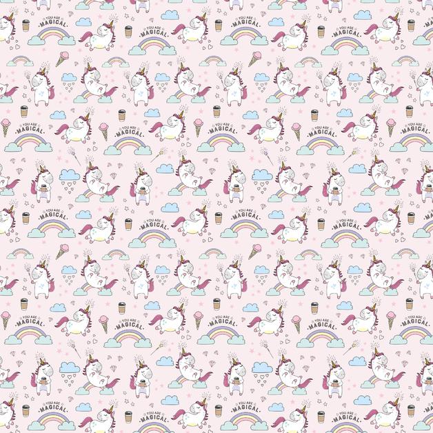 Legami: Wrapping Paper - Unicorn