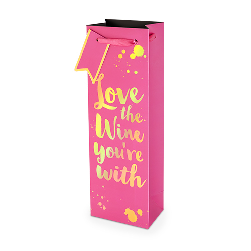 Love The Wine You're With 750ml Bottle Bag