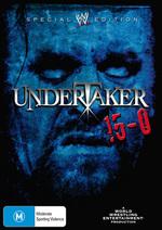 WWE - Undertaker: 15-0 on DVD