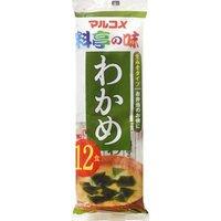 Marukome: Quick Serve Seaweed(Wakame) Miso Soup - 12pk