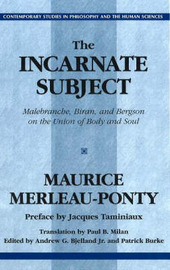 The Incarnate Subject by Maurice Merleau-Ponty image