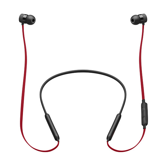 Beats: BeatsX Earphones - Defiant Black/Red image