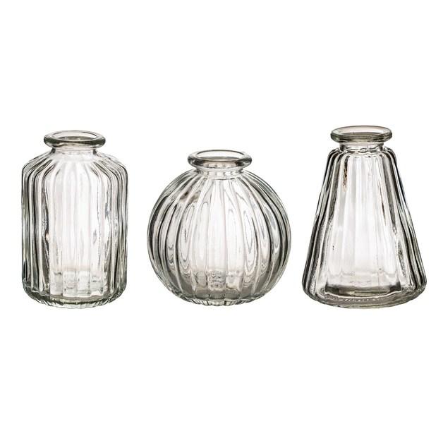 Sass & Belle: Plain Glass Bud Vases