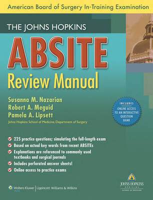 The Johns Hopkins ABSITE Review Manual image