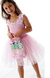 Fairy Girls - Fairy Dust Dress in Light Pink (Small, age 1-4)