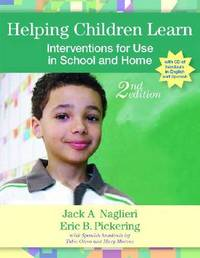 Helping Children Learn: Intervention Handouts for Use in School and at Home by Eric B. Pickering image