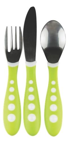 NUK: Big Kids Cutlery Set - Green image