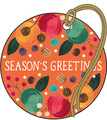Christmas Gift Tags - Festive Fruits (Pack of 4)