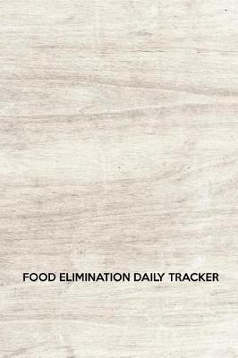 Food elimination daily tracker by Maxwell Cordone