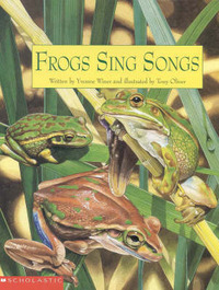 Frogs Sing Songs by Yvonne Winer image