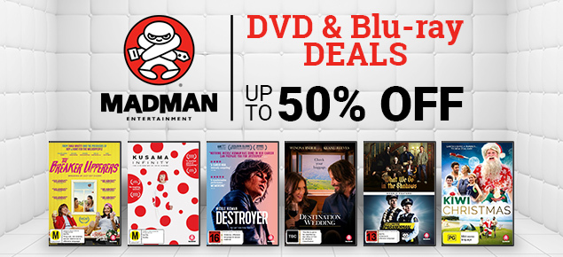Madman DVD & Blu-ray Deals! Save up to 50% off!