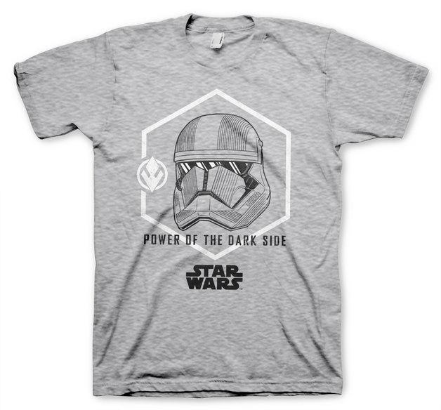 Star Wars IX: Trooper Power T-Shirt - Heather Grey (Large)