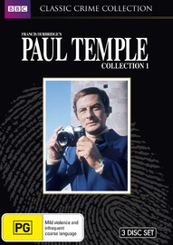 Paul Temple - Collection 1 on DVD