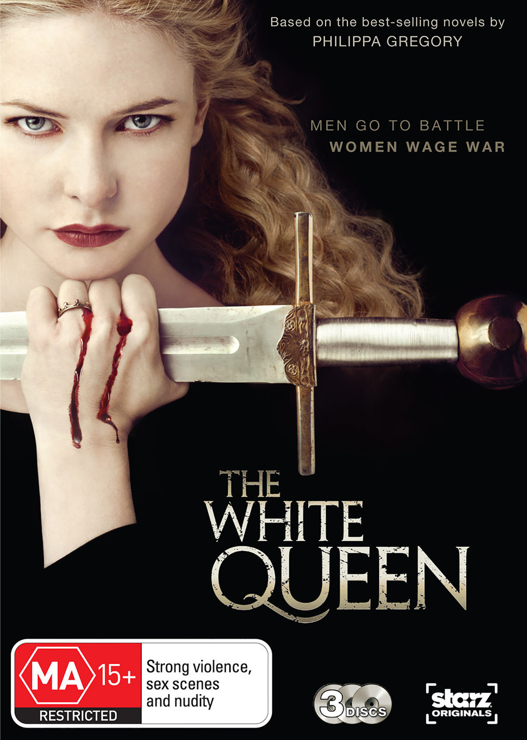 The White Queen on DVD image