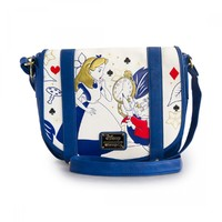 Loungefly Alice in Wonderland Cross Body Bag