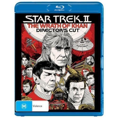 Star Trek 2 - The Wrath Of Khan (Director's Cut Edition) on Blu-ray