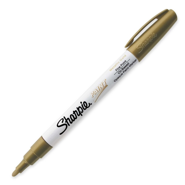 Sharpie Paint Marker Fine Gold