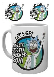 Rick and Morty Mug (Wrecked) image