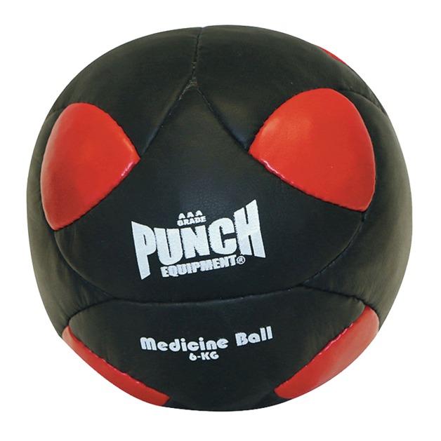 Punch: Medicine Ball - 6kg (Red/Black)