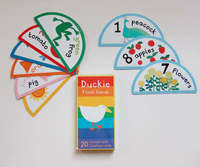 Duckie Flash Cards by Frances Barry image